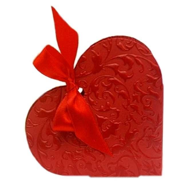 """Pudełeczka dla gości """"Serce czerwone"""" 10 szt"""