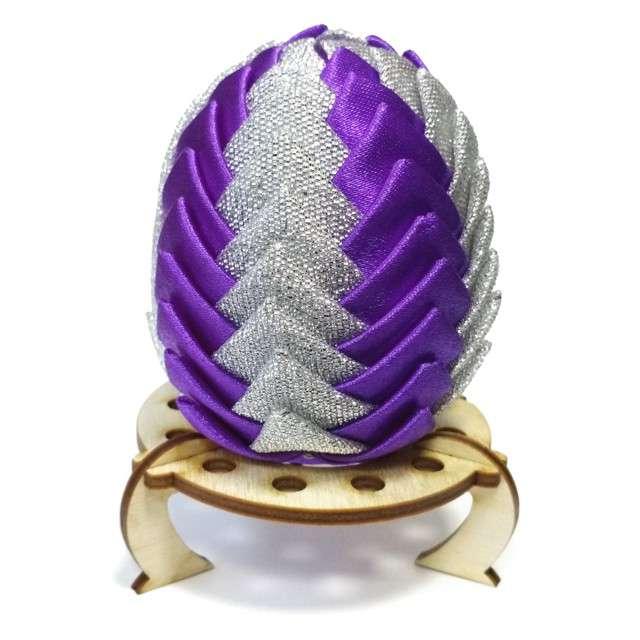 """Podstawka do jajek """"Pierścień - kółko"""""""