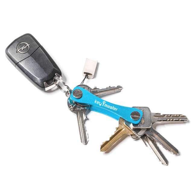 Key master / organizer do kluczy - niebieski