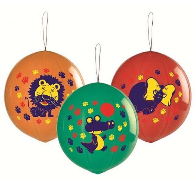 """Balony piłki """"Zwierzęta"""", GEMAR, 3 szt"""