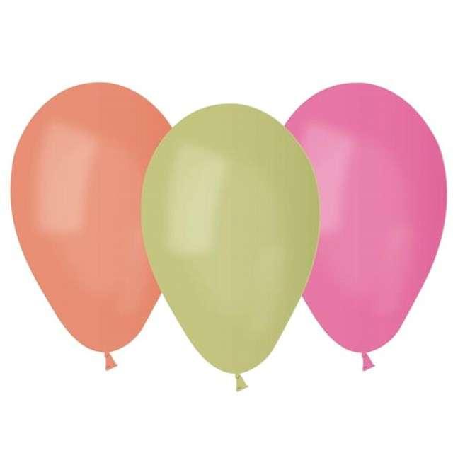 """Balony 12"""" Perła GEMAR mix 8 szt"""