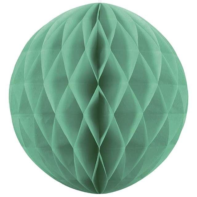 "Dekoracja ""Honeycomb Kula"", zielono-szara, 40 cm"
