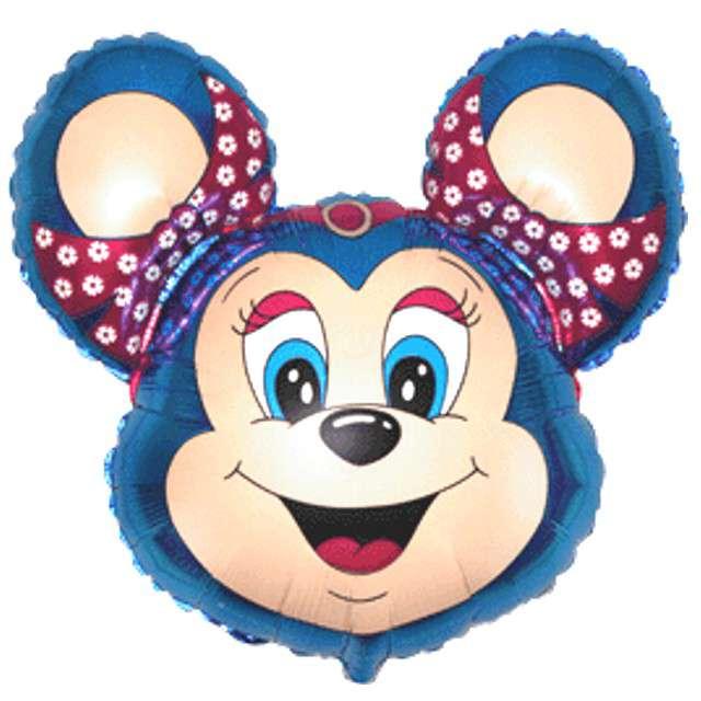 "Balon foliowy ""Babsy Mouse"", niebieski, FLEXMETAL, 14"" SHP"