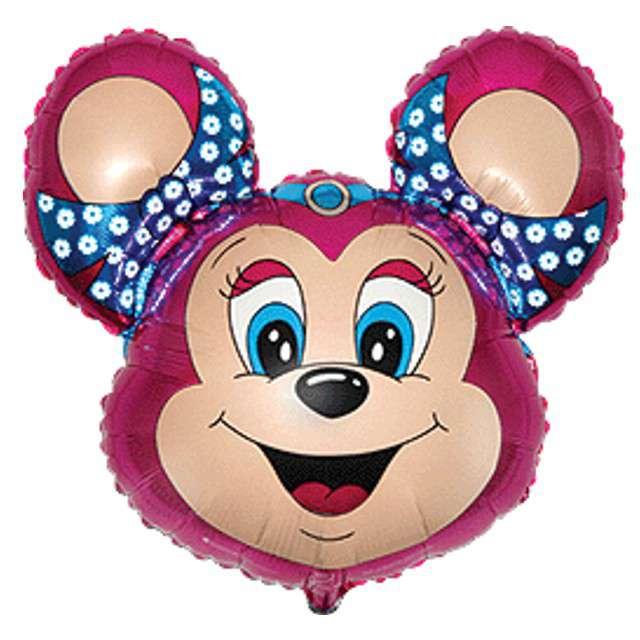 "Balon foliowy ""Babsy Mouse"", różowy, FLEXMETAL, 14"" SHP"