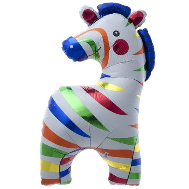 "Balon foliowy ""Zebra"", NORTHSTAR, 35"""