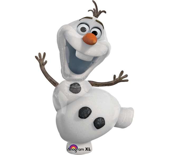 """Balon foliowy """"Frozen Olaf"""", AMSCAN, 41"""" SHP"""