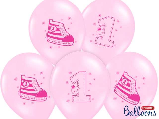 "Balony 14"", ""Trampek 1"", STRONG, Pastel Baby Pink, 50 szt"
