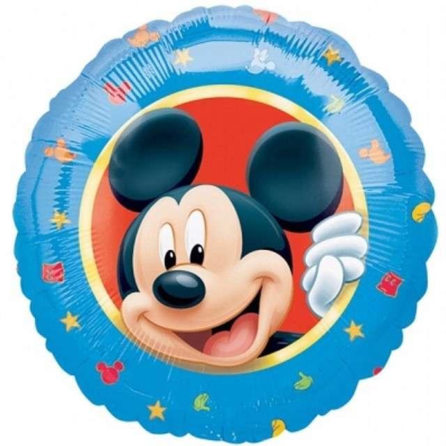 """Balon foliowy """"Mickey Portrait"""", AMSCAN, 18"""" CIR"""