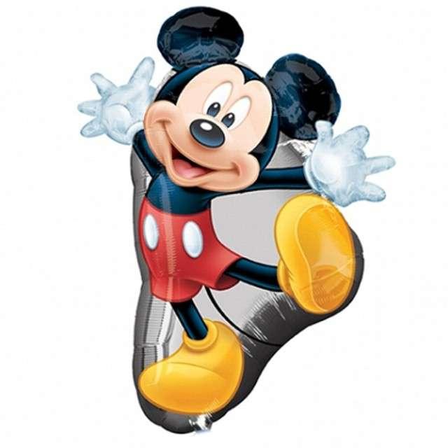 """Balon foliowy """"Mickey Mouse"""", AMSCAN, 22x31"""" SHP"""
