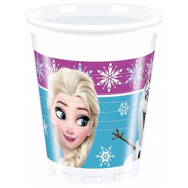 "Kubeczki plastikowe, ""Frozen"", 200 ml, 8 szt"