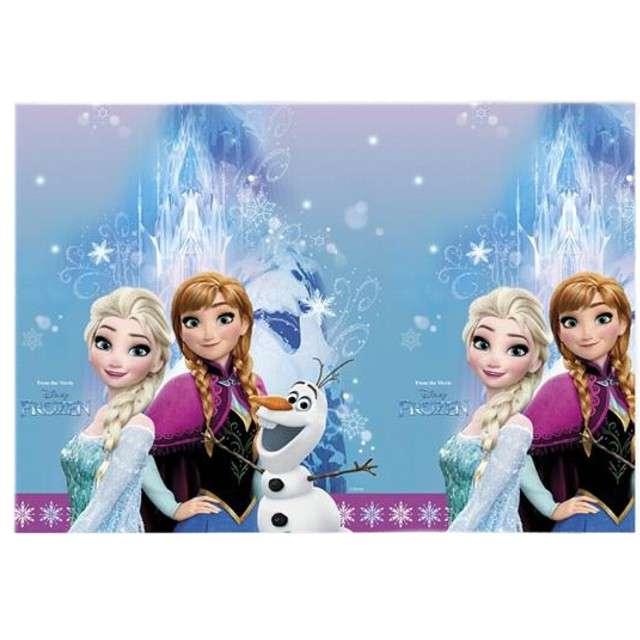 "Obrus foliowy ""Frozen Northern Lights"" 120x180 cm"