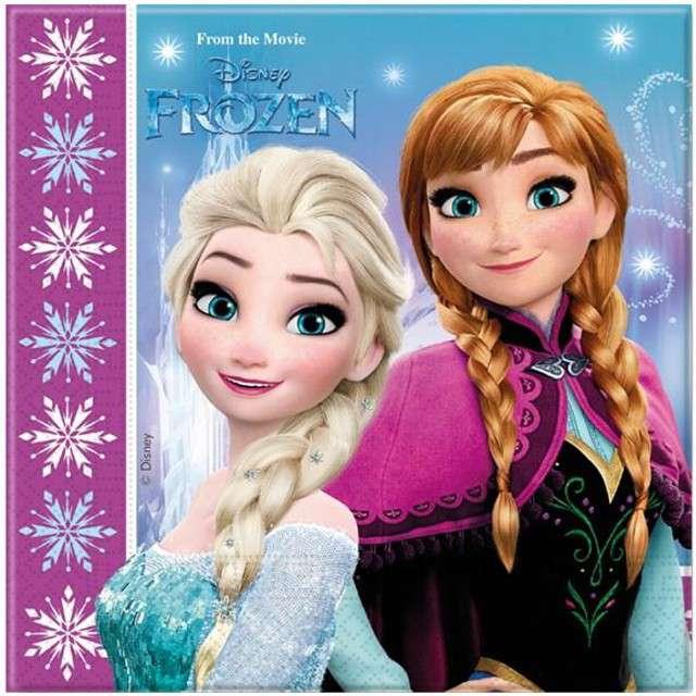 "Serwetki 33 cm, ""Frozen"", 20 szt"