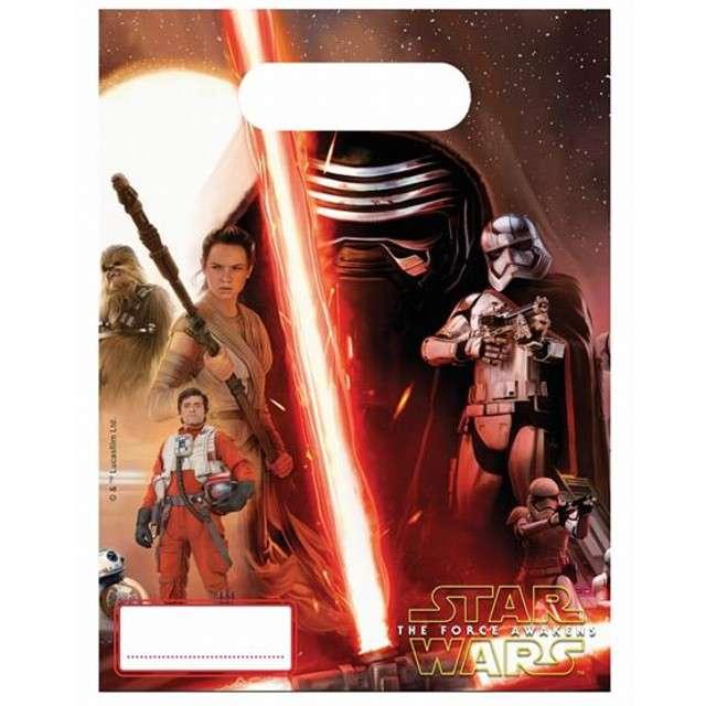 """Torebki foliowe """"Star Wars"""", PROCOS, 17x23 cm, 6 szt"""