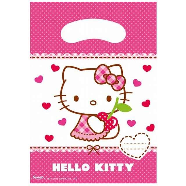 """Torebki foliowe """"Hello Kitty"""", PROCOS, 17x23 cm, 6 szt"""