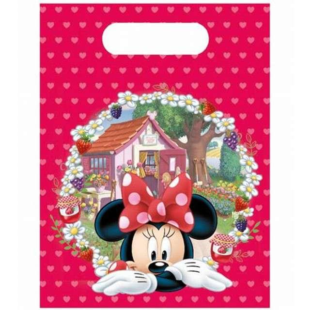 """Torebki foliowe """"Minnie Mouse"""", PROCOS, 17x23 cm, 6 szt"""