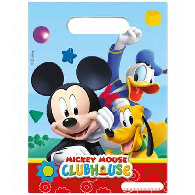 """Torebki foliowe """"Mickey Mouse"""", PROCOS, 17x23 cm, 6 szt"""