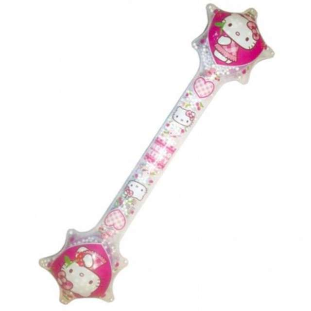"Dmuchaniec różdżka ""HELLO KITTY"", TAP BALL, 67 cm"