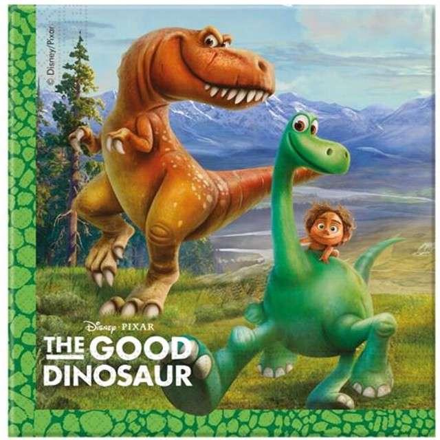 "Serwetki 33 cm, ""The Good Dinosaur"", 20 szt"