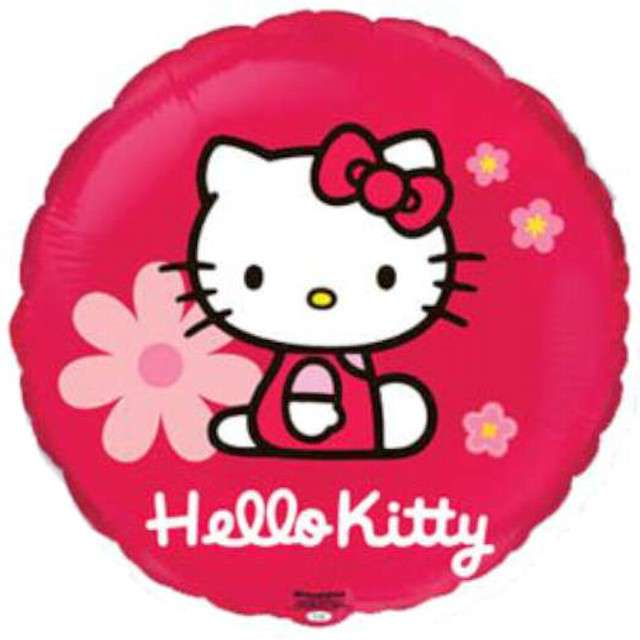 "Balon foliowy ""Hello Kitty"", FLEXMETAL, 18"" RND"