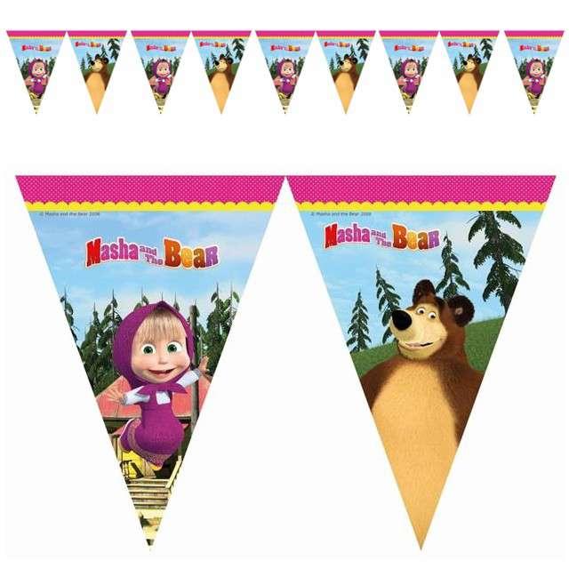 "Baner flagi ""Masha And The Bear"", PROCOS, 2,0 m"