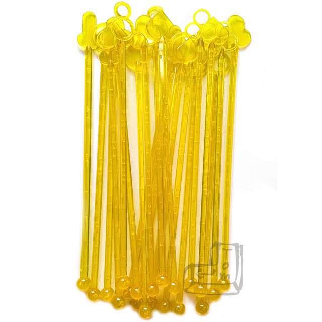 """Mieszadełka """"MIX żółte"""", 21 cm, 20 szt"""
