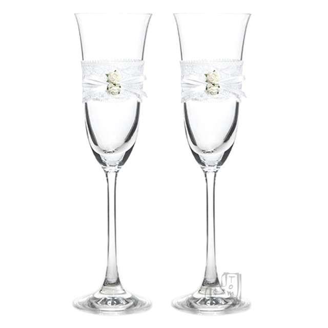 Kieliszki do szampana, 2 szt.