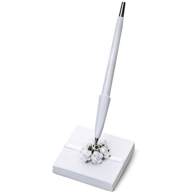 Stojaczek z długopisem, wysokość 16 cm, 1 szt.