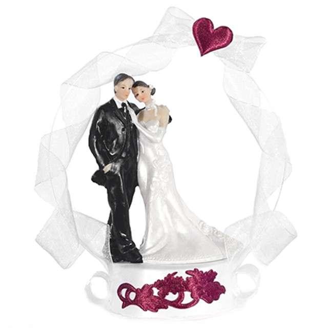"""Figurka na tort """"Para Młoda zakochana"""", 16 cm"""