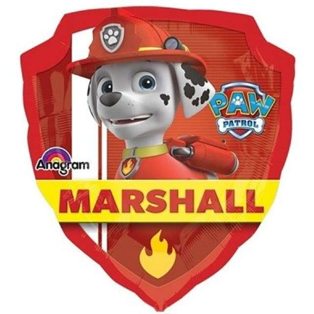 "Balon foliowy ""Paw Patrol Chase i Marshall"", AMSCAN, 24"" SHP"