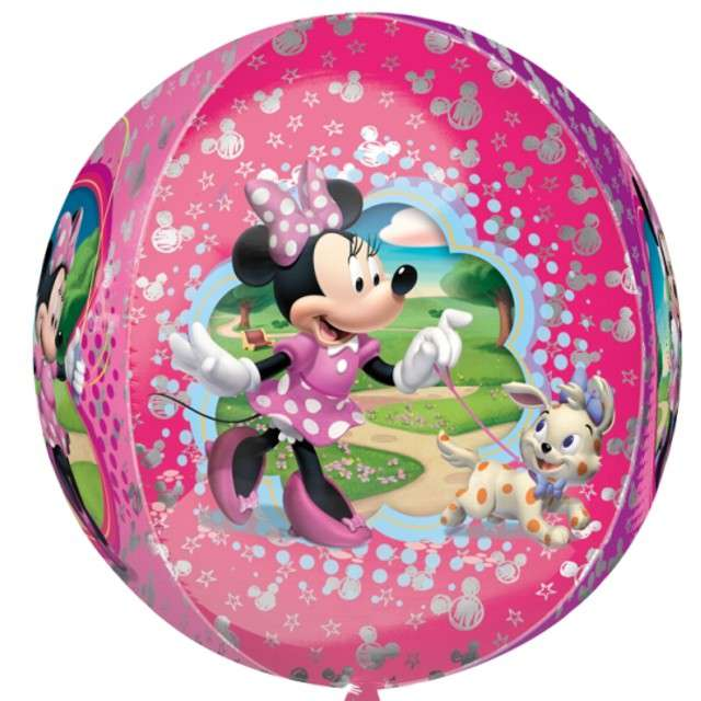 "Balon foliowy ""Minnie Mouse"", AMSCAN, 16"" ORB"