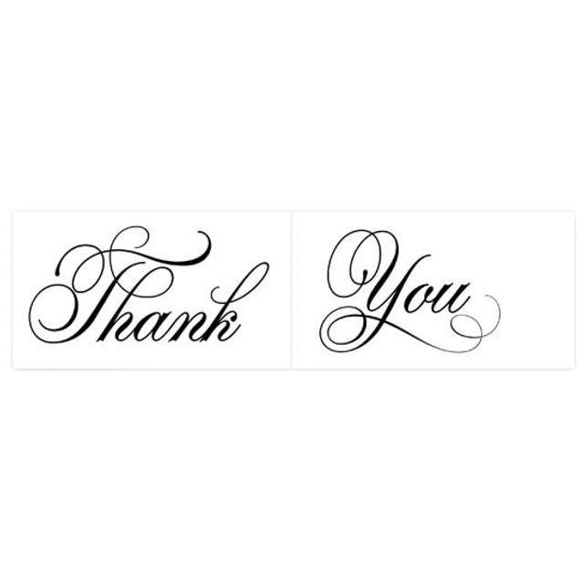 "Fotogadżet karteczki ""Thank / You"", 2 szt"