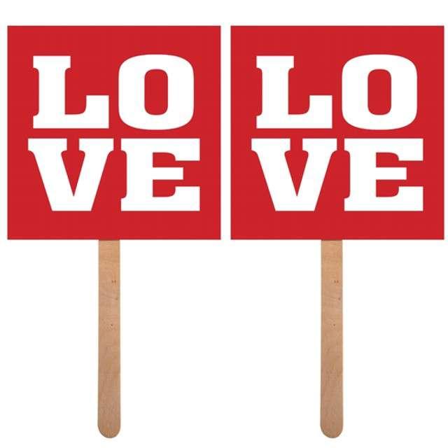 """Fotogadżet patyczki """"Love / Love"""", 2 szt"""