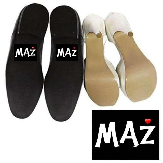 "Naklejki na buty ""Mąż"", 2 szt"