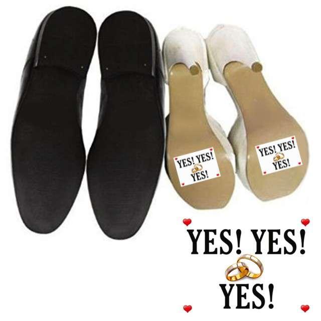 "Naklejki na buty ""Yes Yes Yes"", 2 szt"