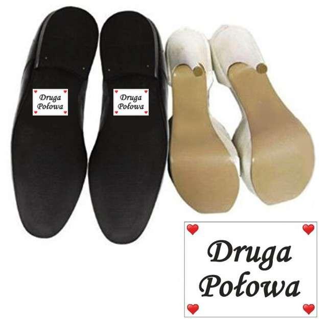 """Naklejki na buty """"Druga Połowa"""", 2 szt"""