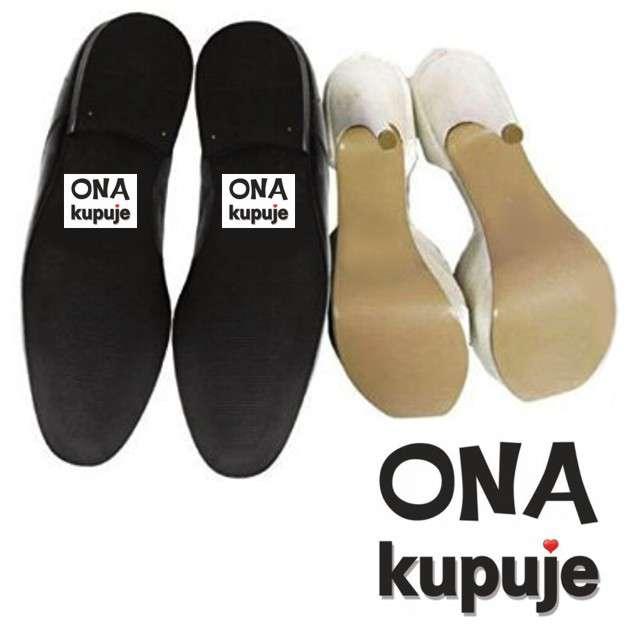 """Naklejki na buty """"Ona kupuje"""", 2 szt"""