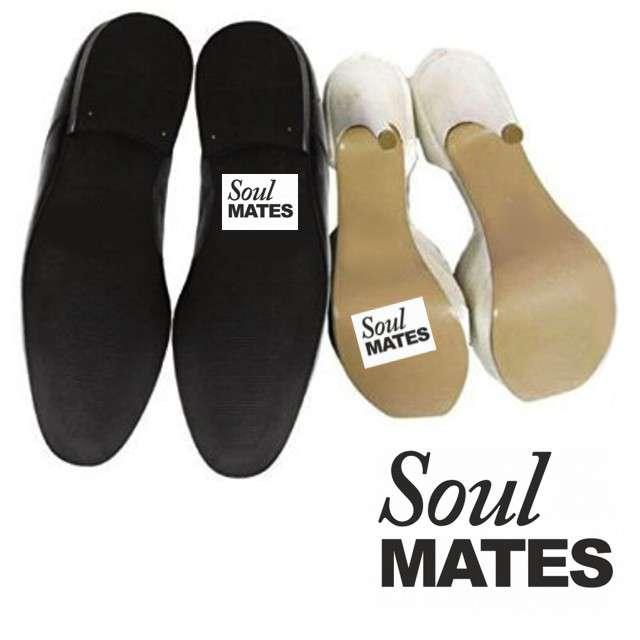 "Naklejki na buty ""Soul MATES"", 2 szt"
