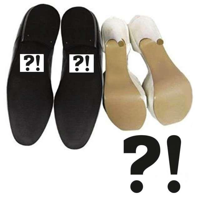 Naklejki na buty ?!, 2 szt