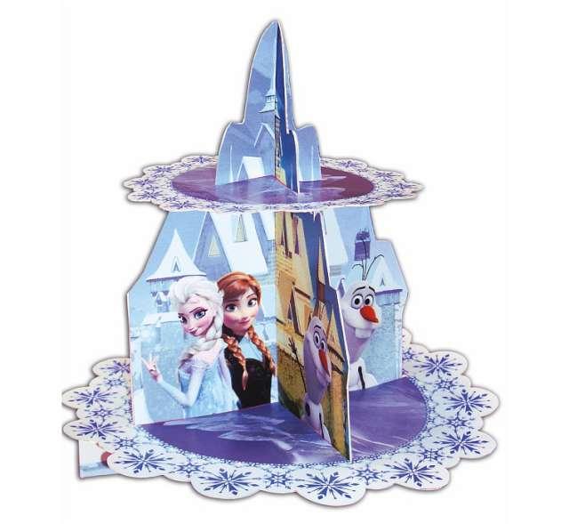 """Patera papierowa """"Frozen"""", 2 poziomy"""