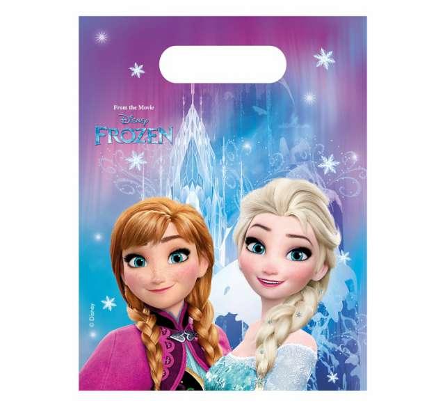 "Torebki foliowe ""Frozen Northern Lights"", PROCOS, 17x23 cm, 6 szt"