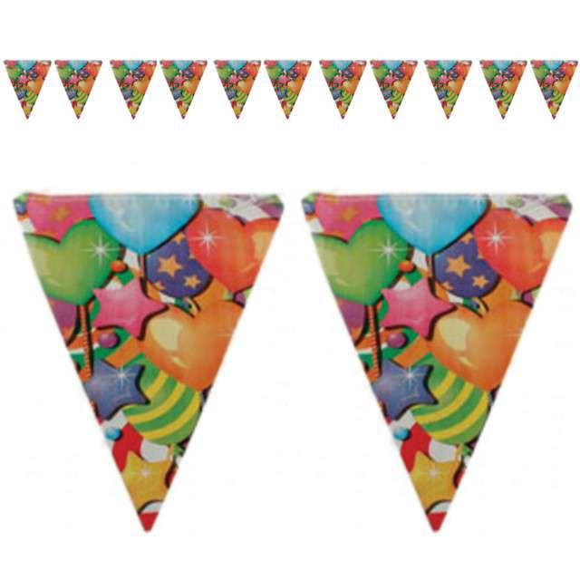 "Baner flagi ""Urodzinowe balony"", 3,6 m"