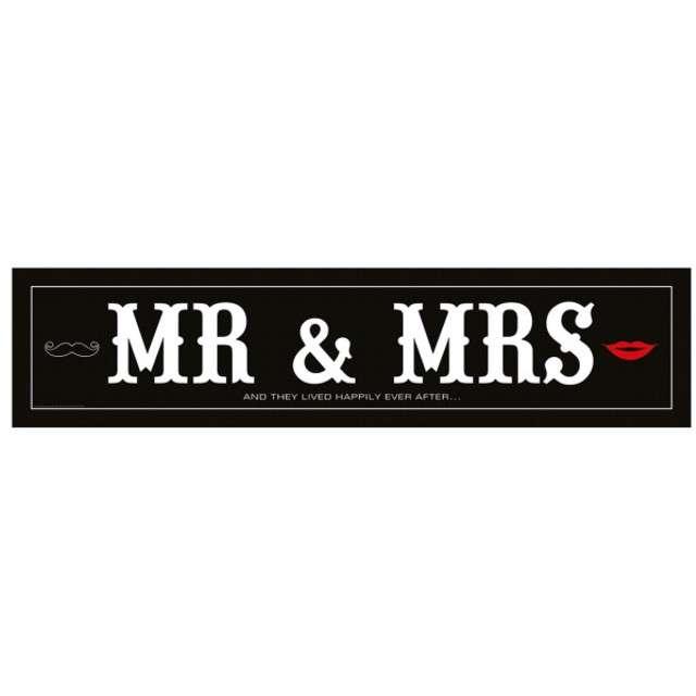"Tablica rejestracyjna ""MR MRS"""
