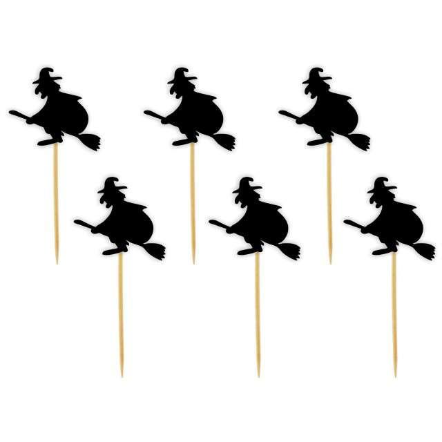 """Szpilki drewniane """"Halloween Czarownice"""", 6 szt"""