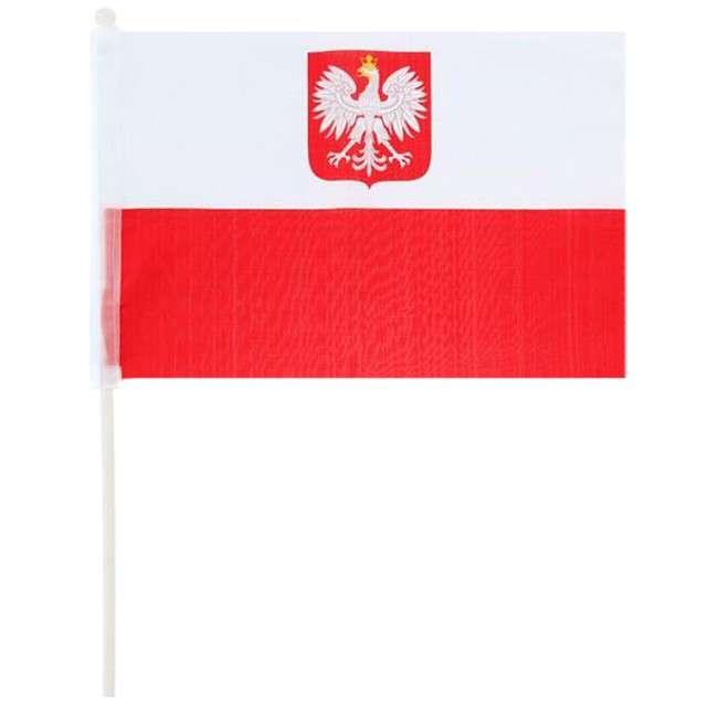 """Flaga na patyczku """"POLSKA"""", GODAN, 60 cm"""