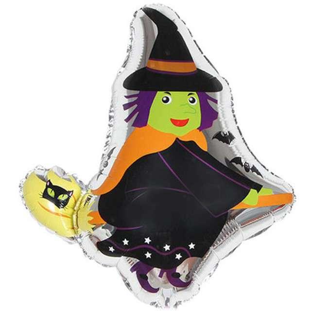 Balon foliowy Czarownica na miotle OEM 22 SHP