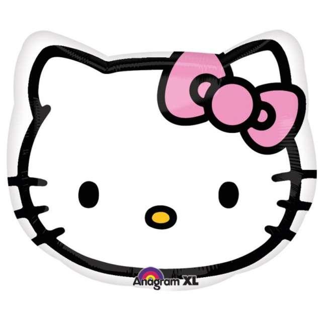 "Balon foliowy ""Hello Kitty"", AMSCAN, 17"" SHP"