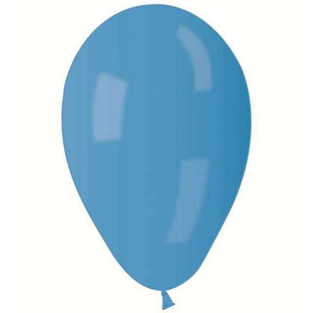 """Balony 8"""" Metalik GEMAR Niebieskie, 100 szt"""