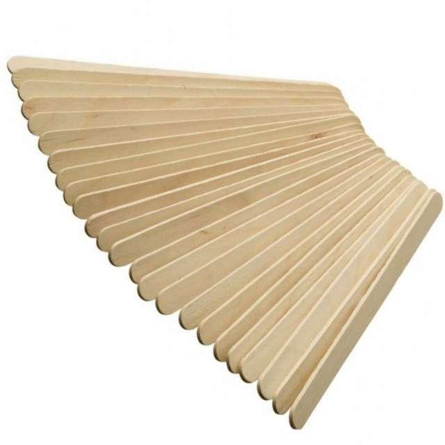 Patyczki do lodów, drewniane, 50 szt, 135x10x2 mm