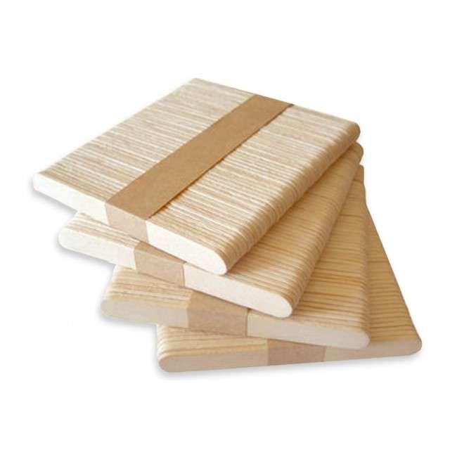 Patyczki do lodów drewniane 50 szt 135x10x2 mm