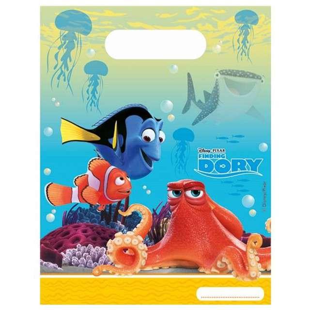 """Torebki foliowe """"Finding Dory"""", PROCOS, 17x23 cm, 6 szt"""